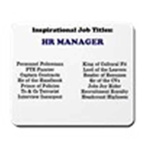 mfsore Mauspad, 8,3 x 10,3 Zoll CafePress Human Resources HR Manager rutschfeste Gummi-Mousepad, Gaming Mauspad, 10 x 12 Zoll -