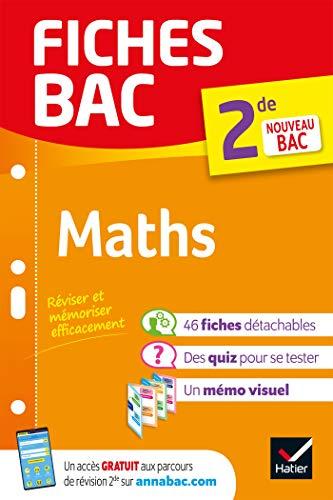 Fiches bac Maths 2de : nouveau programme Seconde (French Edition ...