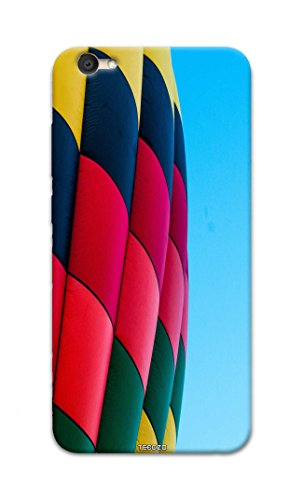 Picwik Designer Printed Back Cover / Hard Case for Vivo Y67 (Hot air balloon Design/Colourful) - Multicolor - D286  available at amazon for Rs.259
