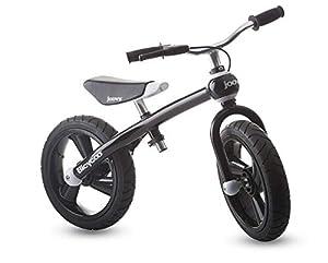 Joovy 00157Bicicleta Sin Pedales Balance Bike, Color Negro