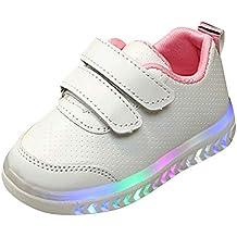 PAOLIAN Zapatillas con Luces Deporte de para Niños Niñas Verano 2019 Zapatos Deportivos Running Bebes Unisex