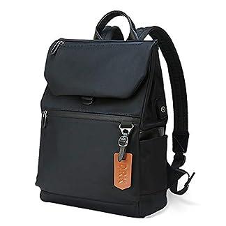 41cI6u9m1%2BL. SS324  - Mochilas Antirrobo Mujer Portatil 14 Pulgadas, Mochila Impermeable Casual con Puerto de Carga USB para Hombre, Negro