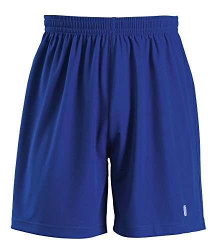 SOLS Childrens Kids San Siro Football   Sport Shorts  10-12   Royal Blue
