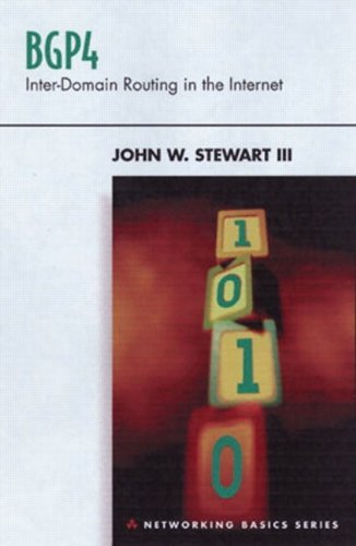 BGP4: Inter-Domain Routing in the Internet by John W. Stewart III (1998-12-24)