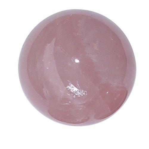 Rosenquarz Kugel Ø ca.24-26 mm A*extra Qualität aus Madagaskar super klare rosa Farbe.(4519)