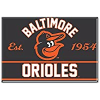 WinCraft MLB BALTIMORE ORIOLES Metall Magnet