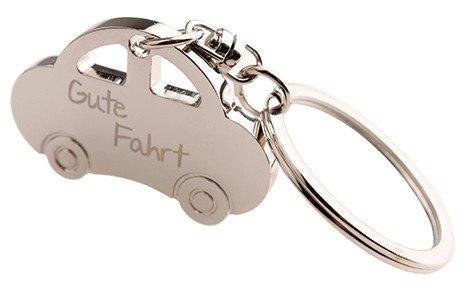 Preisvergleich Produktbild Schlüsselanhänger: Auto 'Gute Fahrt'