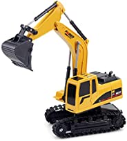 Docooler 1/24 RC Excavator RC Car Construction Tractor Kids Toy with Lights & So