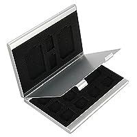 Beweglicher Aluminium TF SD Speicherkarten Aufbewahrungsbehälter Kasten Halter Schutz Tools