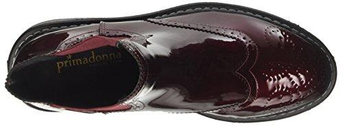 Primadonna 105917591ve, Sneaker a Collo Basso Donna Rosso (Bord)