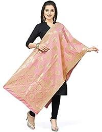 [Sponsored]Rani Saahiba Art Silk Zari Woven Dupatta/Stole - B079Y5F85K