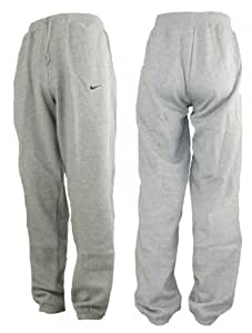 Nike Herren Fleece Joginghose Trainingshose Sweatpants ch cuffted Hem (XL, grau)