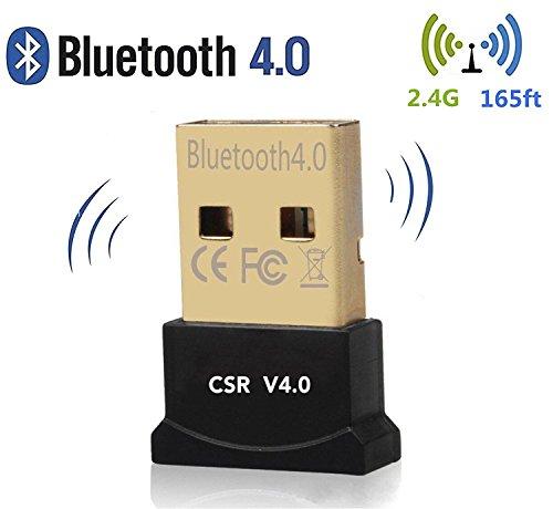 Lautsprecher Tastatur Und (Bluetooth 4.0 USB Dongle Adapter AG-So-So Bluetooth-Sender und Empfänger für PC, Plug & Play oder IVT Treiber, für BT Kopfhörer, Lautsprecher, Mäuse, Tastatur, unterstützt alle Windows 10 8.1 8 7 XP Vista)
