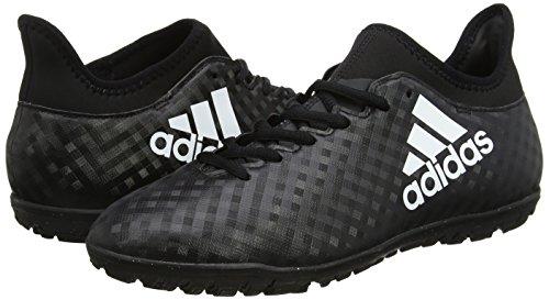 adidas Men's X 16.3 TF Football Boots, Black (Core Black/Ftwr White/Core Black), 9 UK 43 1/3 EU
