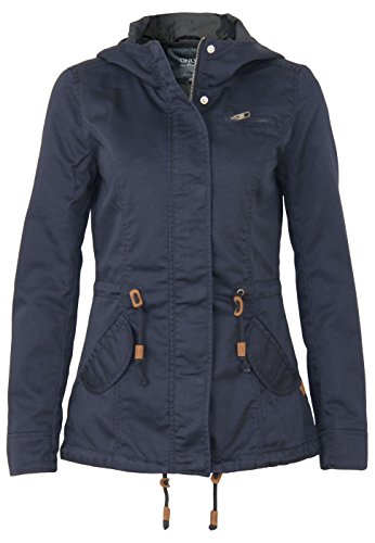 ONLY Onllorca Spring Parka Jacket Cc Otw, Giacca Donna, Blu (Blue Graphite), 42 (Taglia Produttore: X-Large)