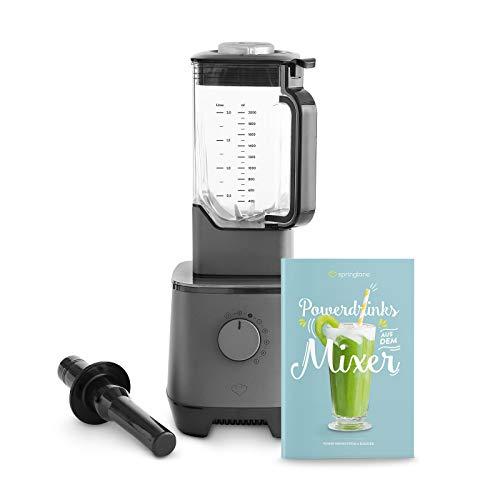 Hochleistungsmixer Hanno 2000W, 32.000 U/min, Standmixer mit 2,5L Tritan-Behälter ohne BPA, Smoothie Maker + Gratis Rezeptheft