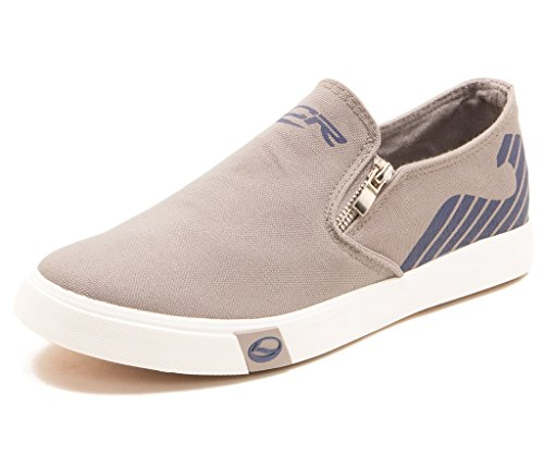 Lancer Men's Canvas Sneakers-YSM-WL-908-D-GREY-NAVY-7  available at amazon for Rs.799
