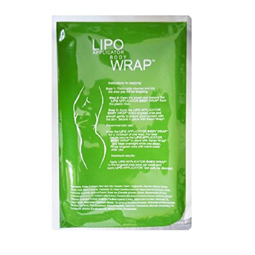 Ultimate Body Wrap Lipo Applicator. 2 Skinny Body Wraps, it works for stomach Inch Loss, Tone, Contouring,Shaping