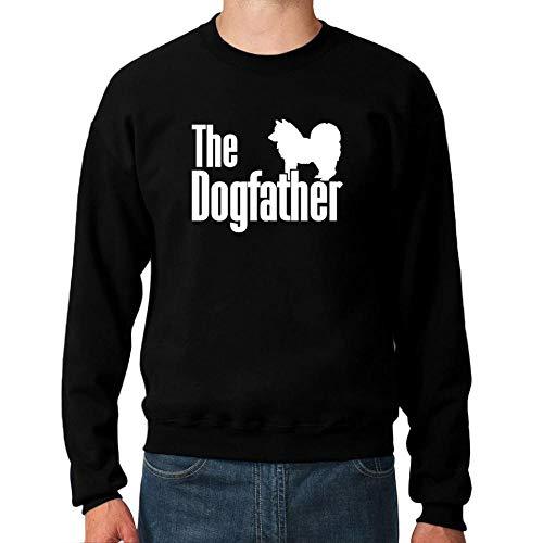 Idakoos The Dogfather American Eskimo Dog Sweatshirt M -
