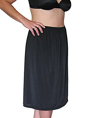 All Woman Plus Size Half-slip/Underskirt Satin 3 Lengths SINGLE ITEM