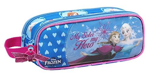 Disney Frozen–La Reina De Hielo Frozen Elsa Anna Olaf, estuche y estuche (S513), 21x 8x 6cm
