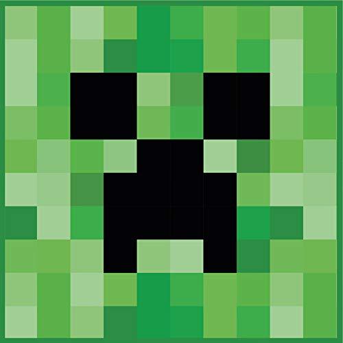 Carattere Mondo Ufficiale Minecraft '' Tappeto 80x 80cm Piazza Camera da Letto Tappeto Partite Bedding