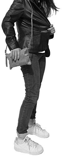 histoireDaccessoires - Pochette Pelle Donna - PO152721I-Selena Denim