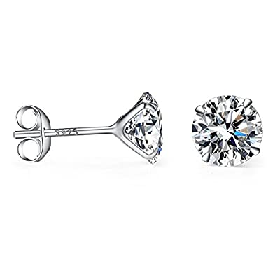 Mu&Nin AAA Silver Sparkling Diamond White Crystal in Platinum overlay sterling silver : everything 5 pounds (or less!)