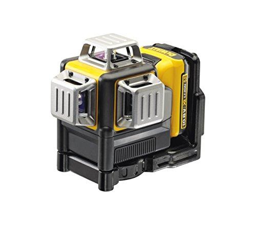 DᴇWALT DCE089D1R-QW Laser 3 linee 360° XR Litio 10,8V, 2.0 Ah - Raggio Rosso