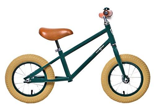 Rebel Kidz Air Classic Boy Vélo d'apprentissage, Enfants, Vert, Taille unique