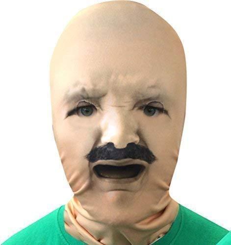 L&S PRINTS FOAM DESIGNS Weinen Baby Face Schnurrbart 3D Effekt Face Haut Sensenmann hergestellt in Yorkshire (Baby Schnurrbart Mit)