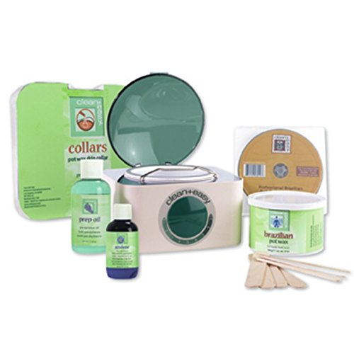 Clean + Easy Professional Pot Wax Brazilian Kit, 64 Ounce by Clean + Easy