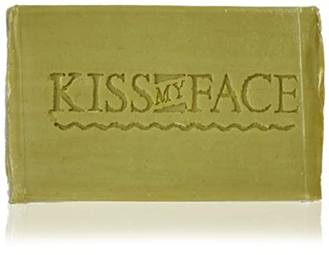 Kiss My Face Pure & Natural Olive Oil Soap (Paraben & Fragrance Free, Vegan 115g)