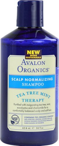 No-rinse Body Bath (Avalon Organics Scalp Normalizing Shampoo Tea Tree Mint Therapy - 14 fl oz)