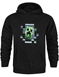 Hommes - Minecraft - Minecraft - Sweat À Capuche