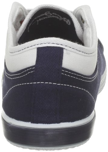 Pepe Jeans Slide, Baskets mode hommes Bleu (595 Navy)