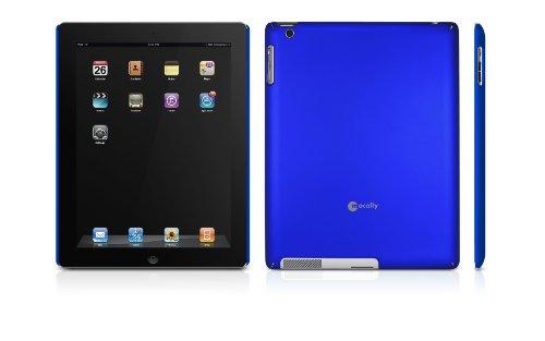 Macally Snap-2MB Schutzhülle für Apple iPad 2 metallisch blau -