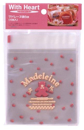 Pearl Con Cuore Madeleine bag 8 centimetri Orso 15 pezzi D-2168 (Giappone import / Il pacchetto e il manuale sono scritte in giapponese)