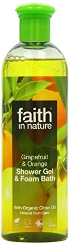 Faith in Nature Grapefruit & Orange Foam Bath shower gel 400ml by Faith Products Ltd