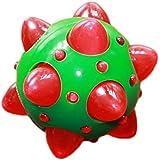 Dog Toy - LIGHT UP FLASHING Knobbly Ball