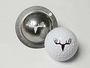 Tin Cup marqueur de balle de golf personnalisés d'alignement Outil modèles