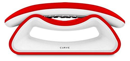SPC Telecom 7706R - Teléfono fijo inalámbrico (altavoces, manos libres), blanco