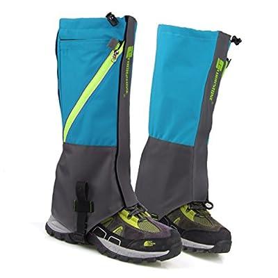 1 Paar wasserdichte Schnee Legging Boot Gamaschen Bein umfasst robuste Outdoor Wandern Wandern Klettern von Unbekannt bei Outdoor Shop