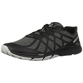 Merrell Men's Bare Access Flex 2 Fitness Shoes, Black (Black), 9.5 UK ( 44 EU)