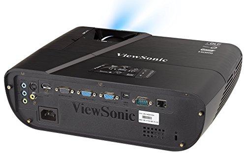 ViewSonic LightStream PJD6352 XGA Network Projector  3500 Lumens HDMI MHL      Black