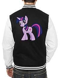 Twilight Pony College Vest Negro Certified Freak