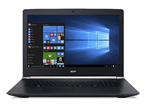 Acer NB AS.VN7-792G-798L NX.G6REG.005 43,9 cm (17,3 Zoll) Notebook (Intel Core i7 6700HQ, 2,6GHz, 8GB RAM, 1TB HDD, 256 SSD, GTX950, Win 10 Home) schwarz