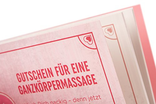 Deluxe Gutscheinheft 14 Gutscheine für Lust & Liebe, erotische Geschenkidee für Paare, Verwöhngutscheine für Sie - Bild 8