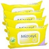 Mitosyl Lingettes Biodégradables Lot de 4 x 72 Lingettes