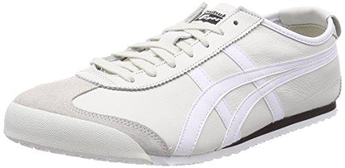 Asics Unisex-Erwachsene Mexico 66 Sneaker, Grau (Vaporous Grey/White 9001), 46.5 EU (Tiger Damen Schuh)